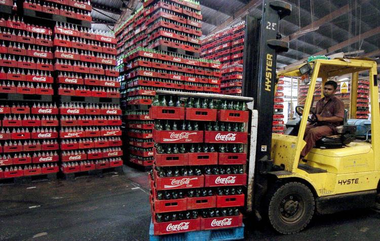 coca cola warehousing and storage